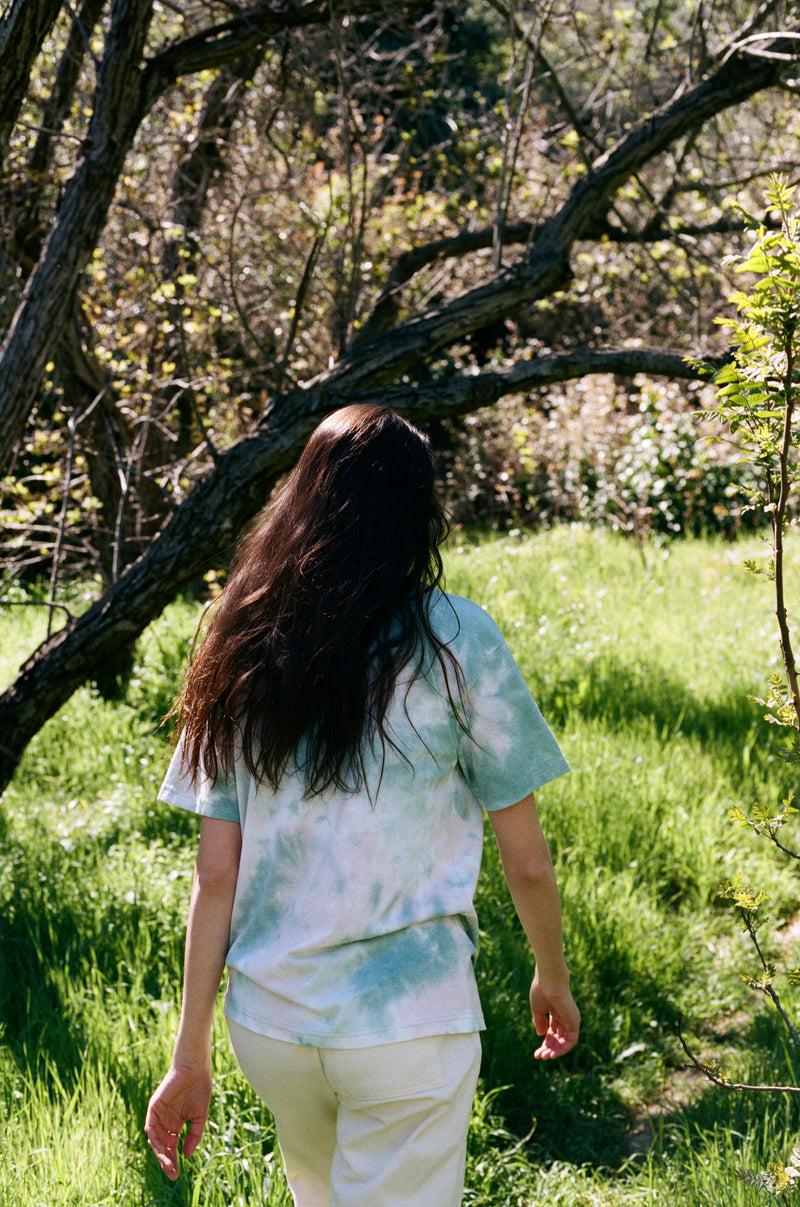 Desert Dreamer - Earth Tie-Dye Pocket Tee