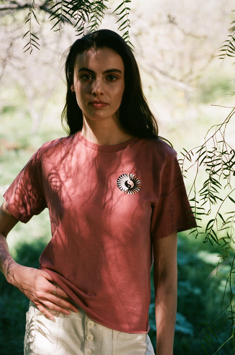 Desert Dreamer - Go Your Own Way Raw Edge Tee