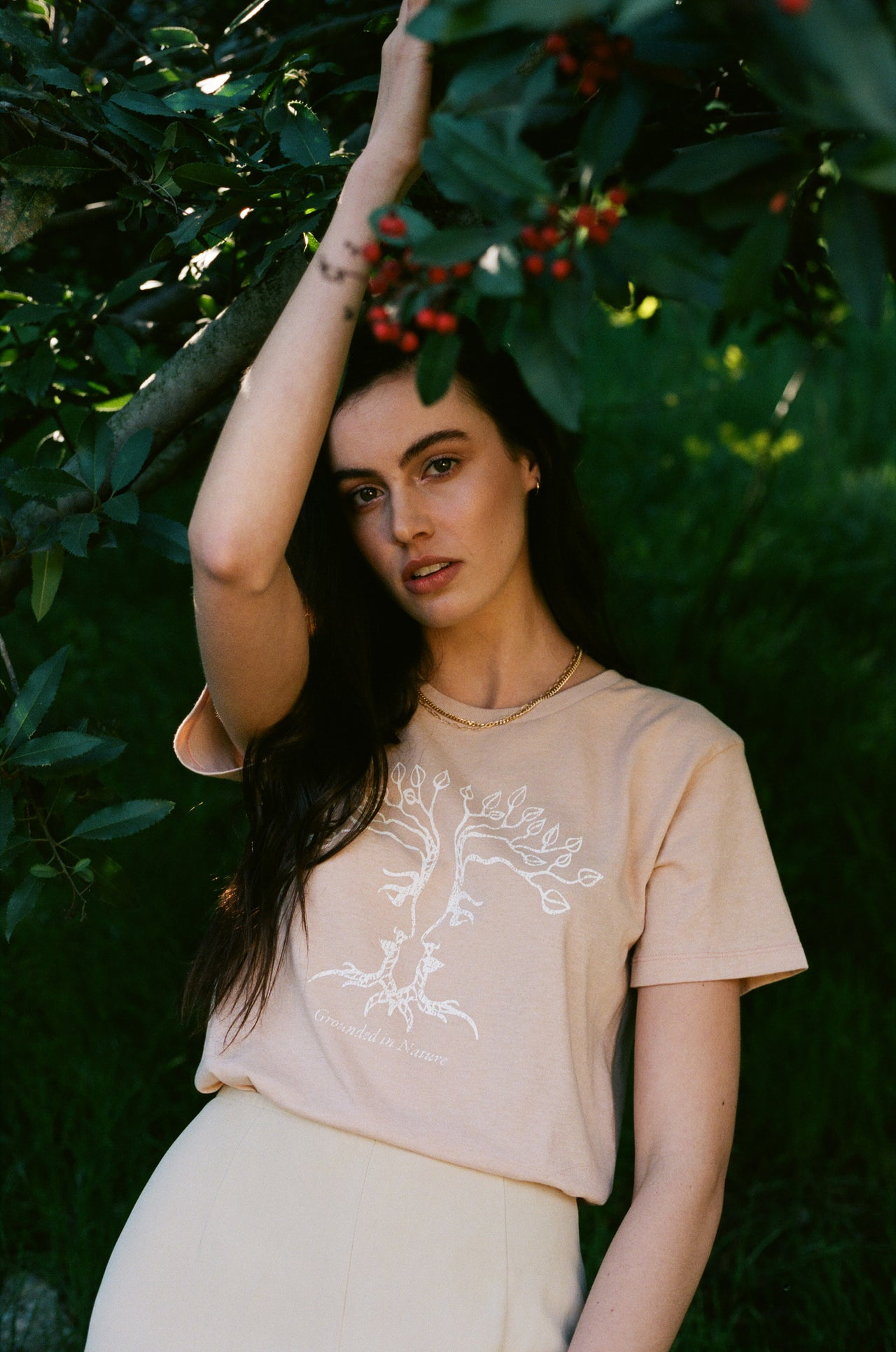 Grounded in Nature Boyfriend Tee - Desert Dreamer