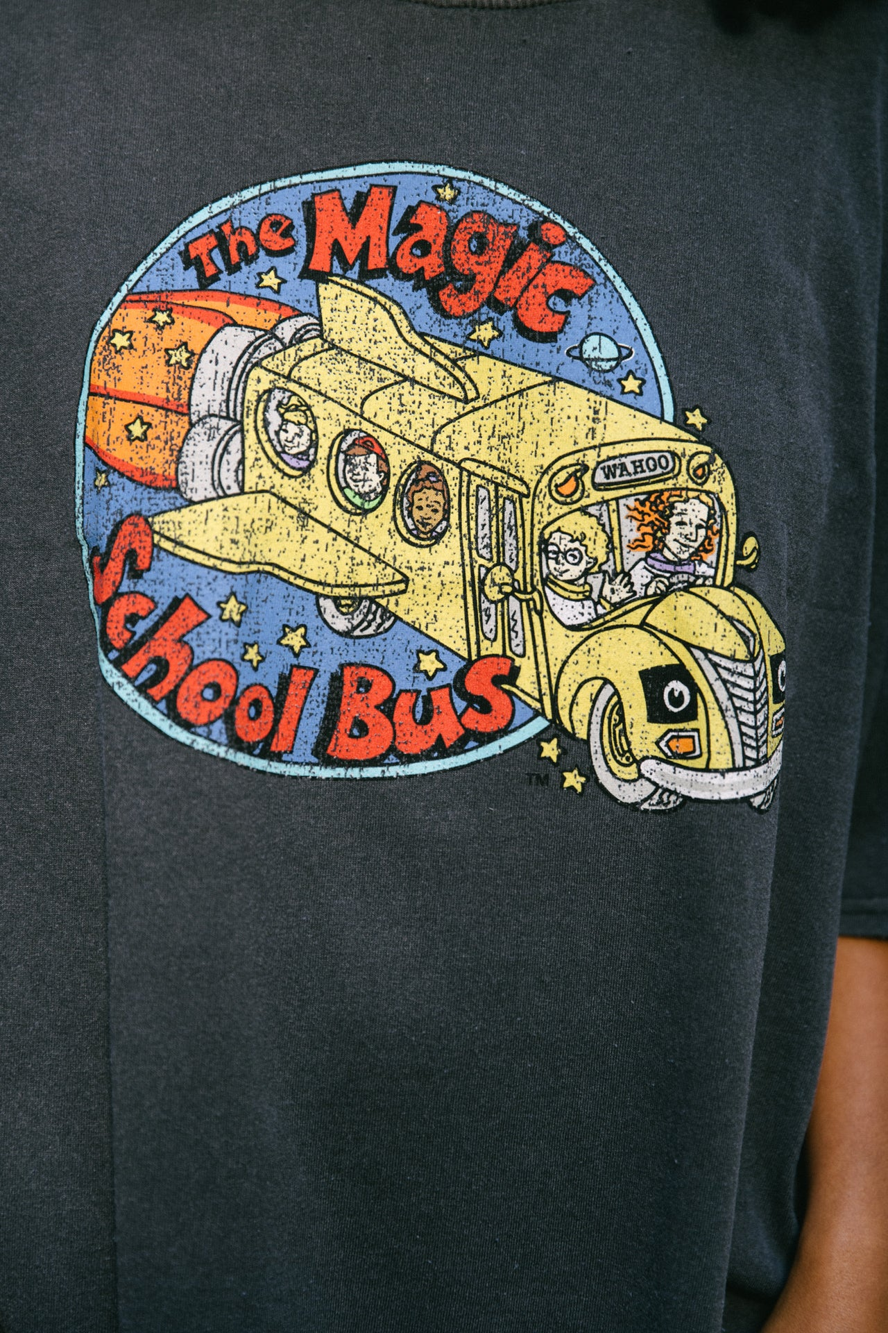 Magic School Bus Medallion Dad Tee - Desert Dreamer