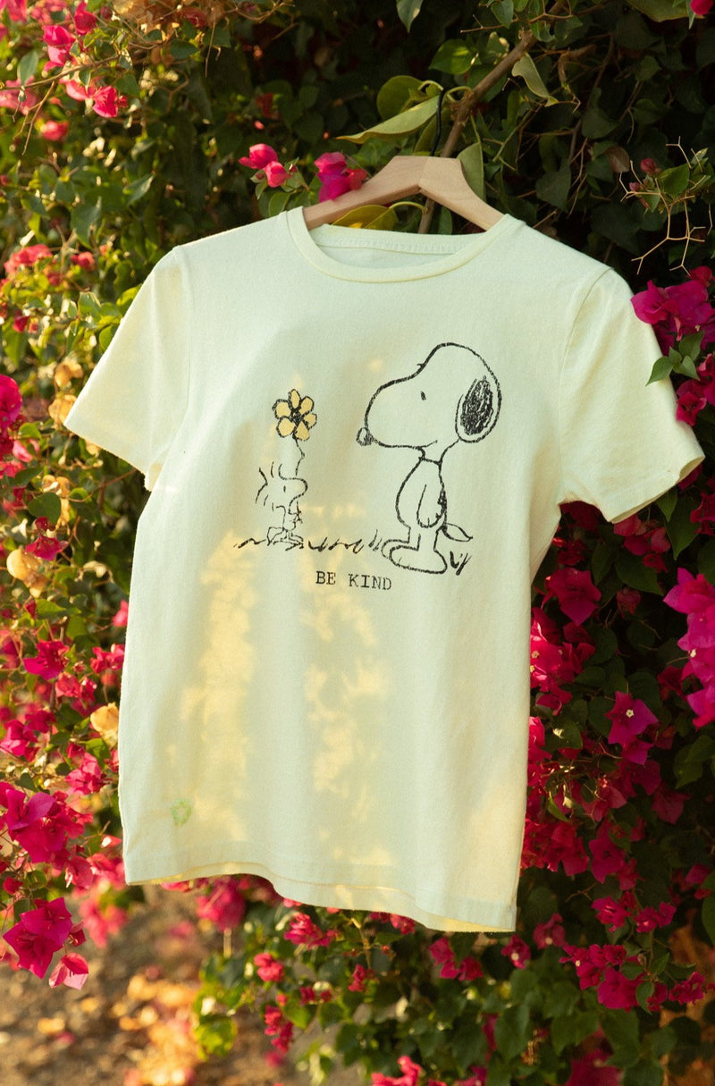 Desert Dreamer - Snoopy Be Kind Recycled Tee