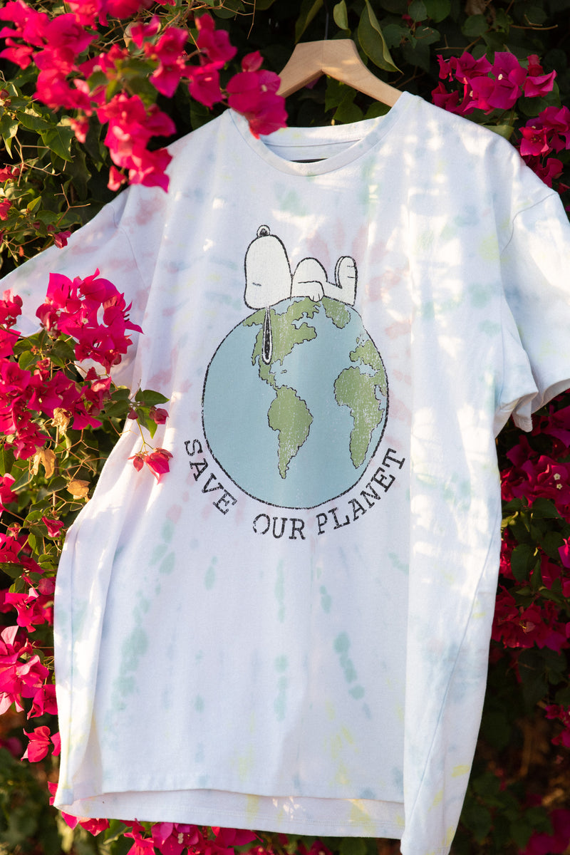Desert Dreamer - Snoopy Save Our Planet Dad Tee