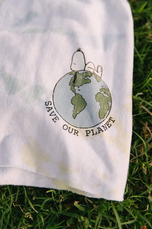 Snoopy Save Our Planet Recycled Shorts Thumbnail - Desert Dreamer