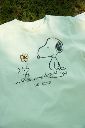 Snoopy Be Kind Recycled Tee Thumbnail - Desert Dreamer