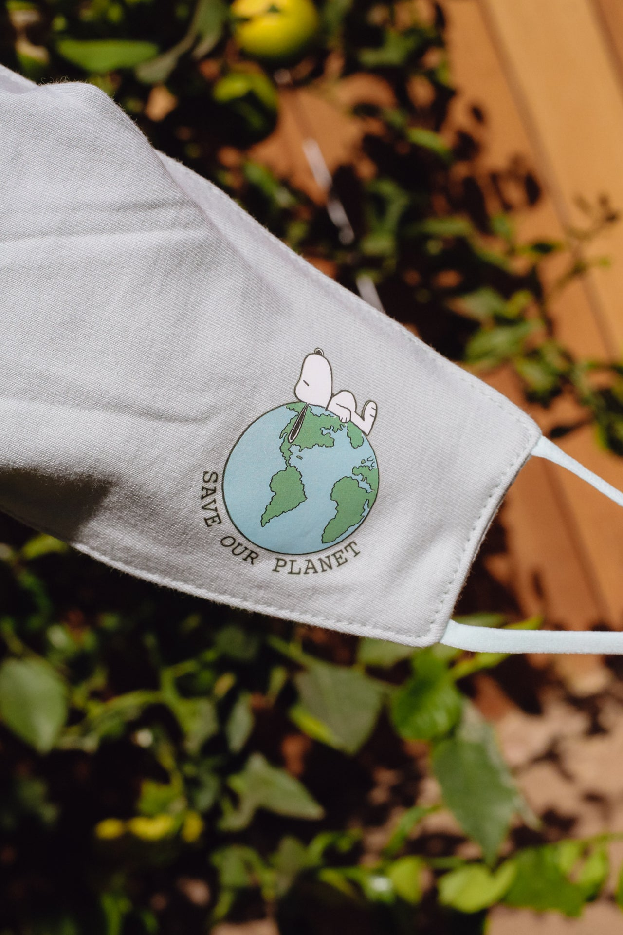 Snoopy Save Our Planet Mask - Desert Dreamer