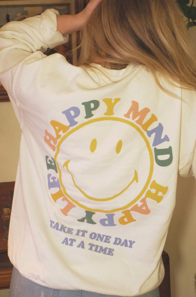 Desert Dreamer - Happy Mind Smiley Crewneck