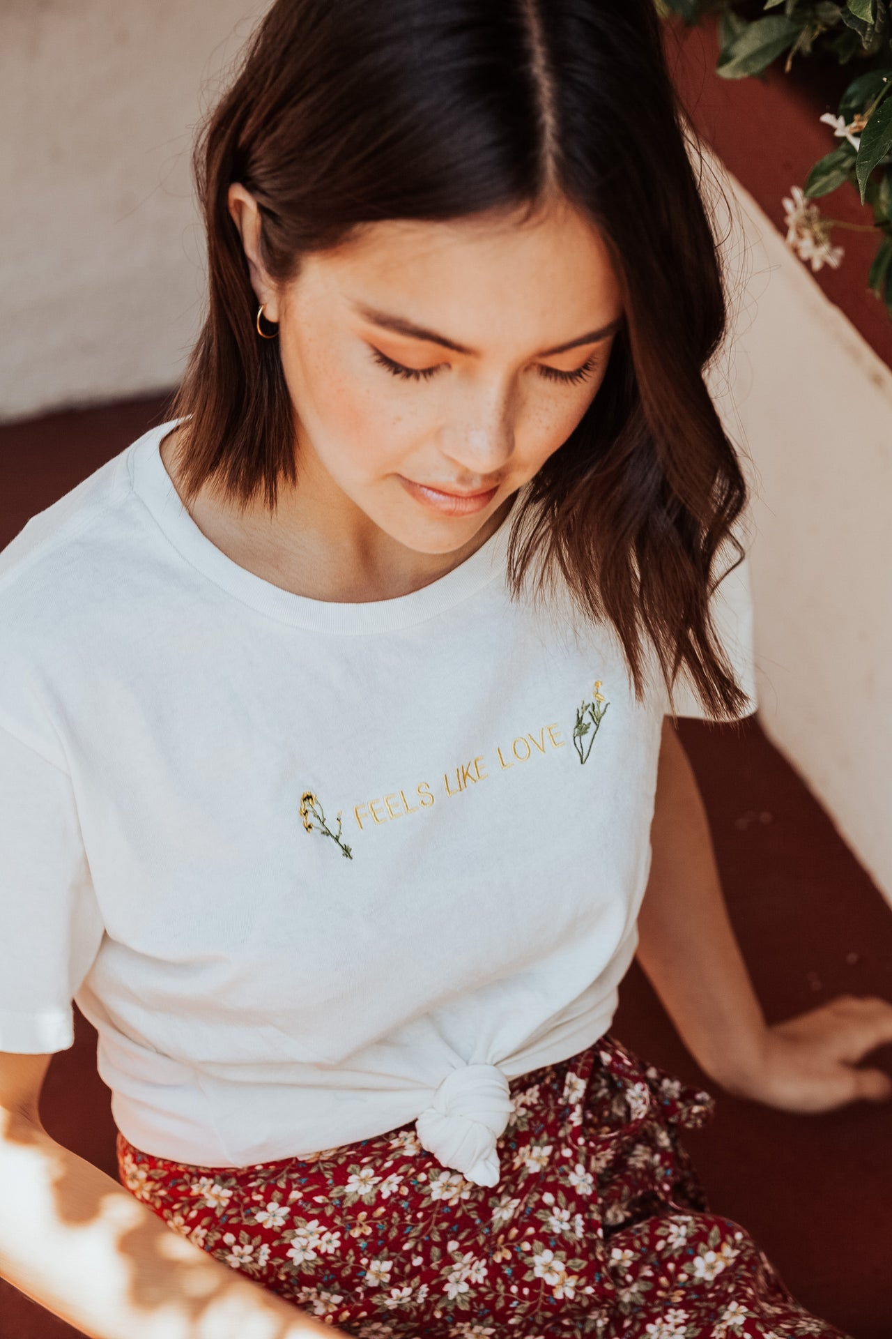 Feels Like Love BF Tee - Desert Dreamer