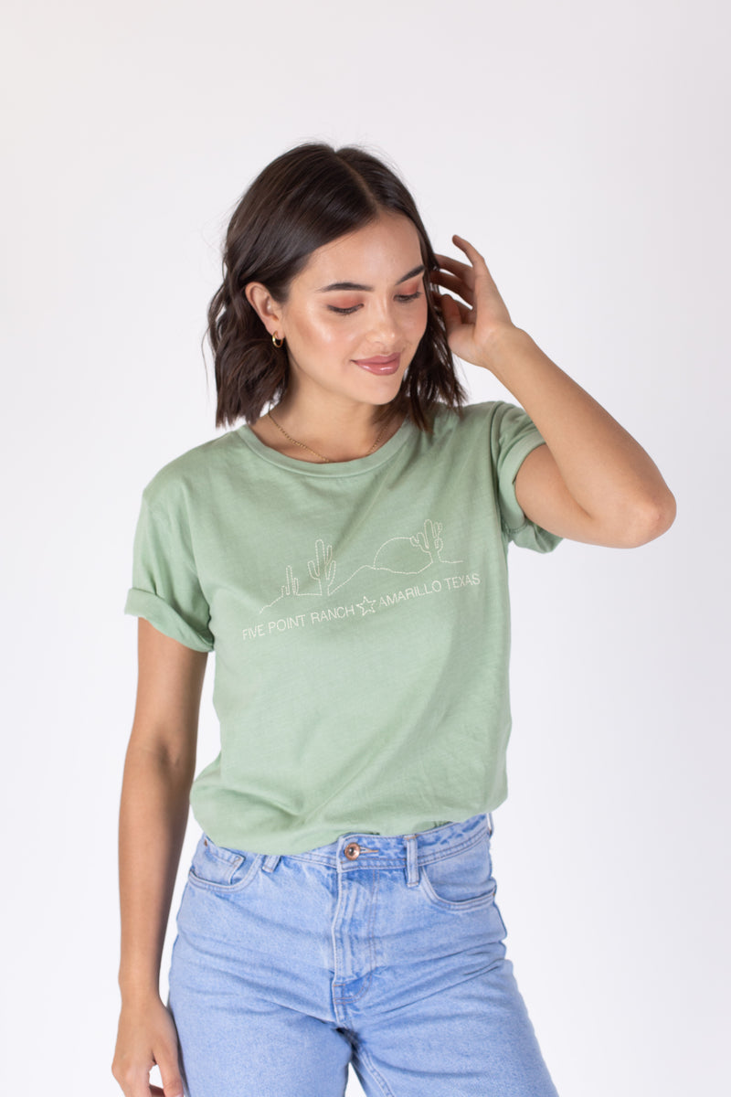Desert Dreamer - Five Point Ranch Boyfriend Tee