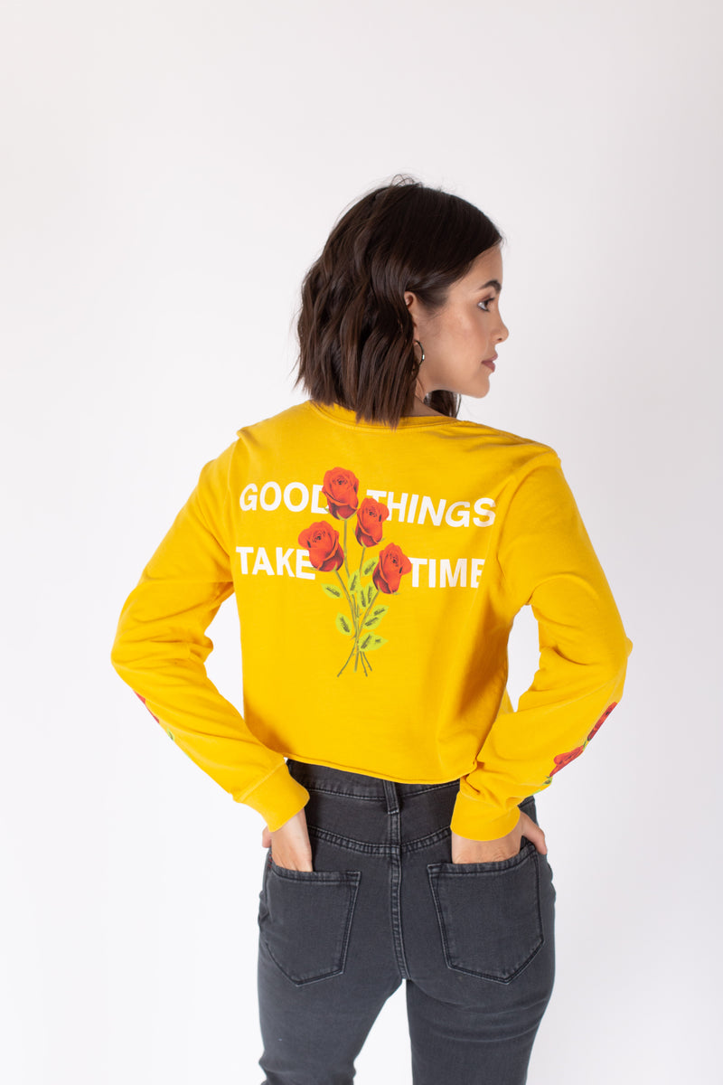 Desert Dreamer - Good Things Crop Long Sleeve