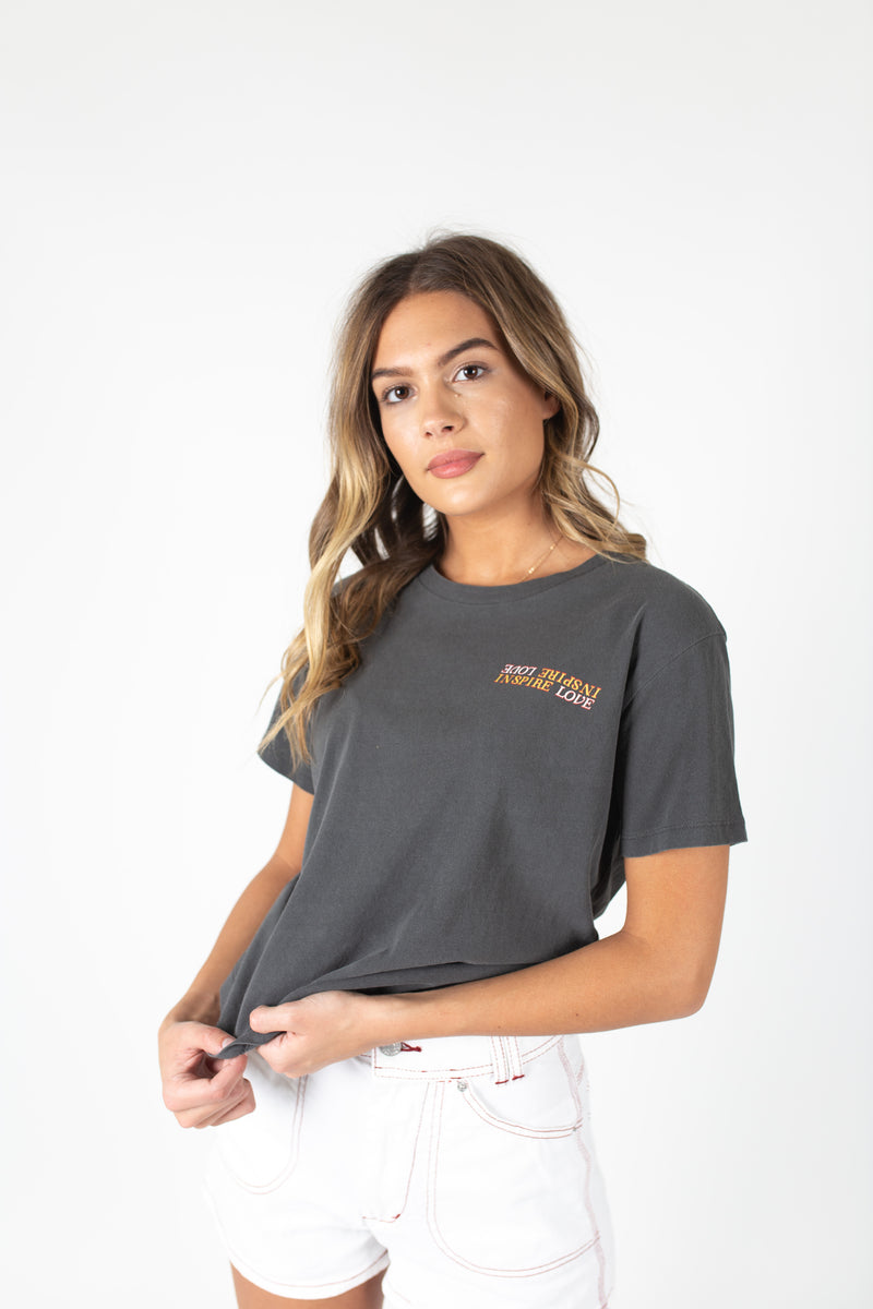 Desert Dreamer - Inspire Love Raw Edge Tee