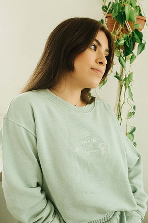 Taking It Slow Crewneck Thumbnail - Desert Dreamer