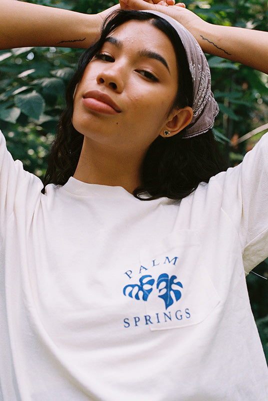 Desert Dreamer - Palm Springs Recycled Pocket Tee
