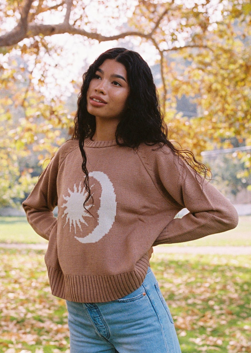 Desert Dreamer - Sunlight Recycled Knit Sweater