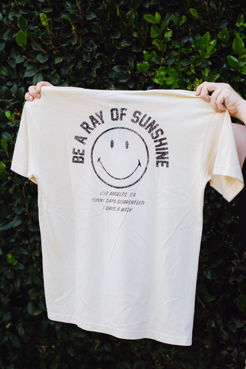 Desert Dreamer - Smiley Ray of Sunshine Pocket Tee