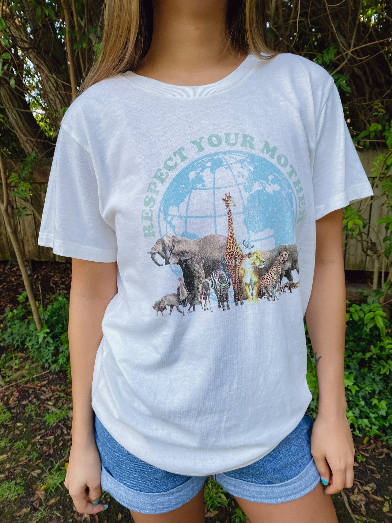Respect Your Mother Recycled Tee - Desert Dreamer