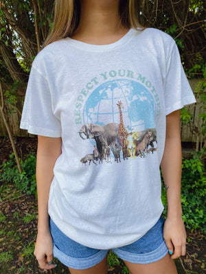 Respect Your Mother Recycled Tee Thumbnail - Desert Dreamer