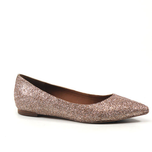 Special Occasion Lynn Flat Glitter Shoe
