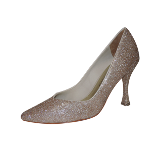 Special Occasion Shoe Anna in Pink Campaign Sparkle