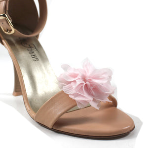 Flower Shoe Clips -Pink