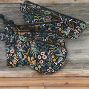 Midnight Garden - Pencil Zip Pouch