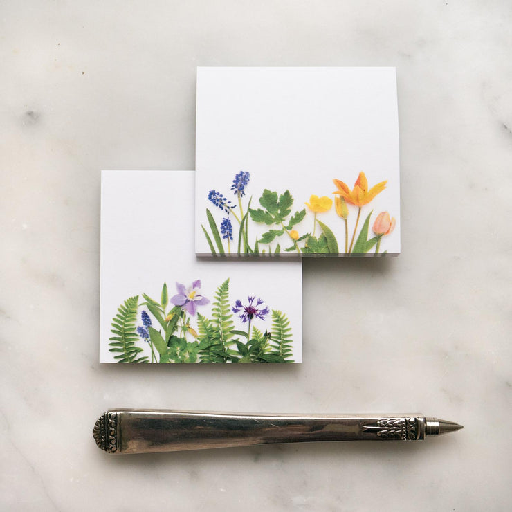 Ferns & Flowers - Sticky Notes