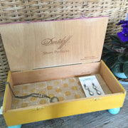 Summertime Upcycled Cigar Box by lydeen