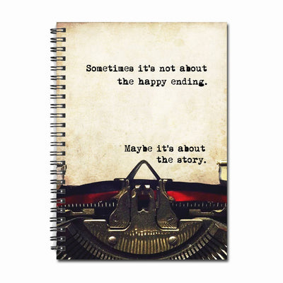 Maybe it's About the Story - Notebook