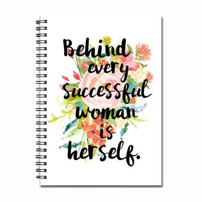 Successful Woman - Notebook/Journal by Fly Paper Products
