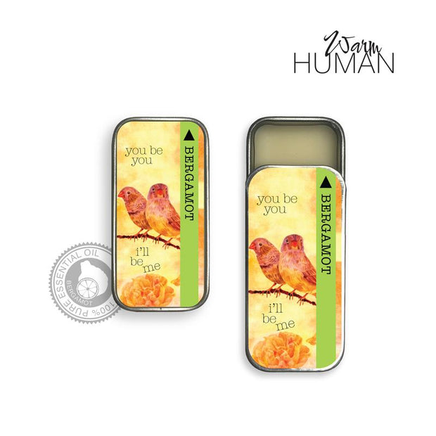 Bergamot/100% Pure EO Solid Perfume by warm human