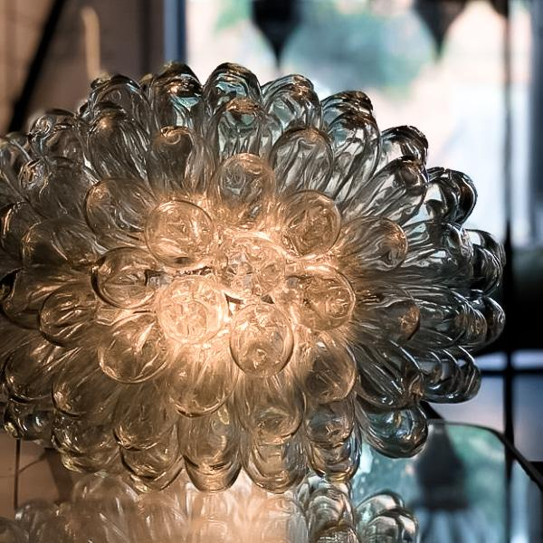 Lampa Grape Small i glas / Vindruvsklase i glas - Posh Living