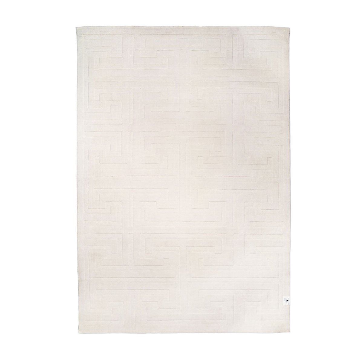 Matta Key Wool från Classic Collection, White - Posh Living