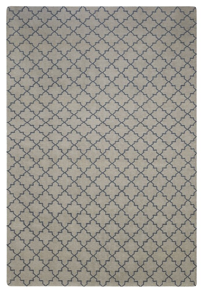 Matta New Geometric från Chhatwal & Jonsson, Light Grey / Grey - Posh Living