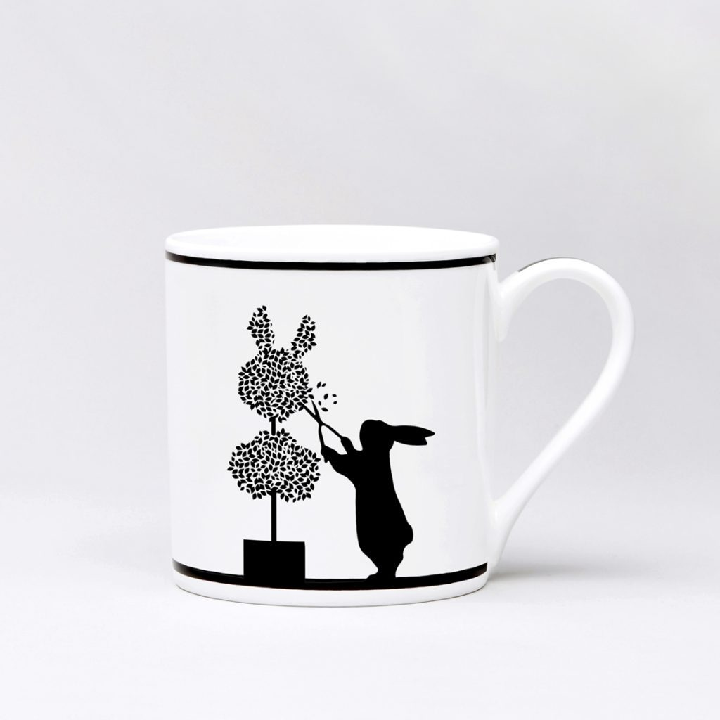 Mugg Gardening Rabbit - Posh Living