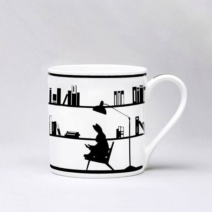 Mugg Reading Rabbit - Posh Living