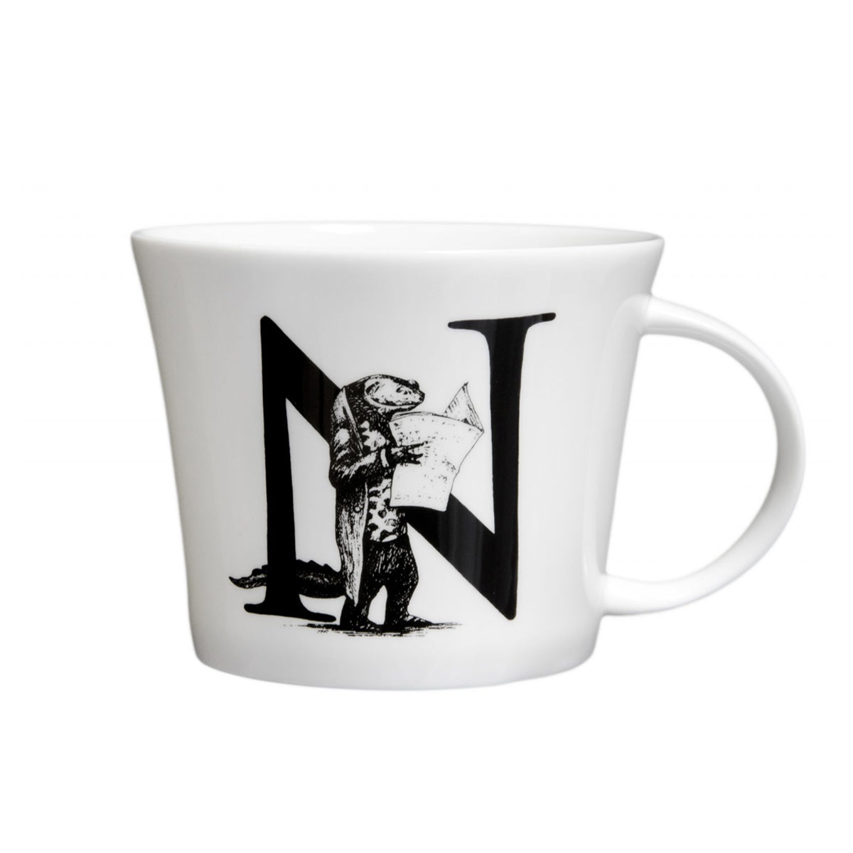 Mugg Mighty från Rory Dobner, N – Newt With Newspaper