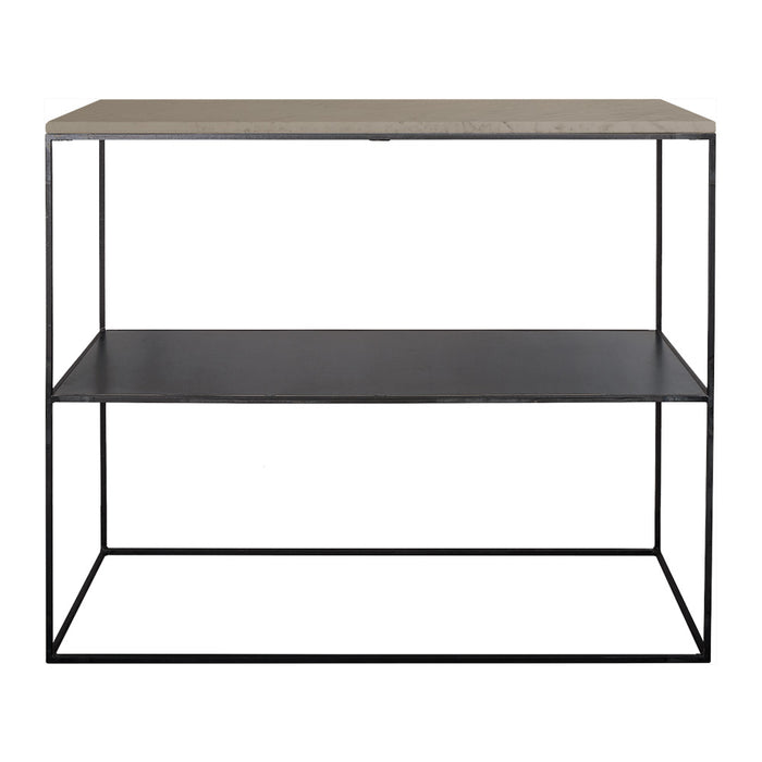 Sidobord Stone från Posh Collection, Kalksten 110×35 H85 cm