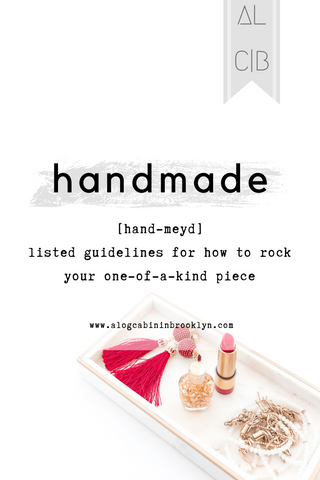 The Guide to Rocking Handmade