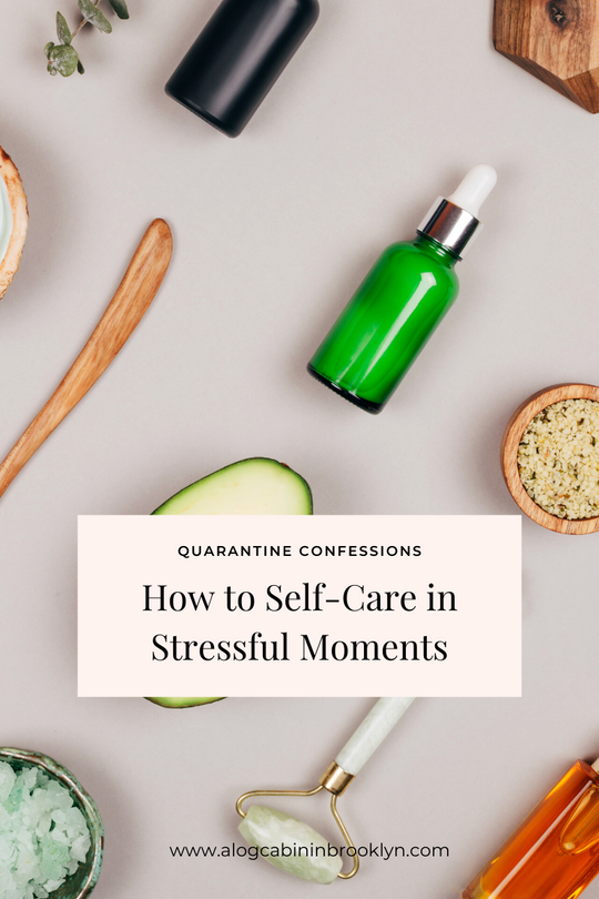 How to Self-Care in Stressful Moments
