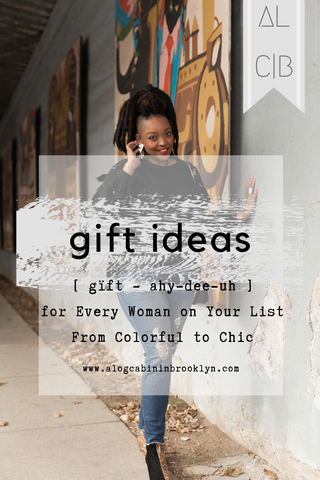 Gift Ideas for Every Woman on your List from Colorful to Chic