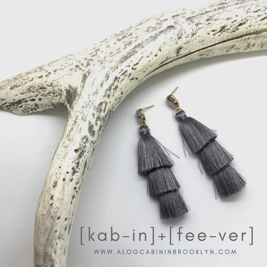 Tiered Tassel Earring
