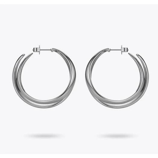Punk Double C Hoops