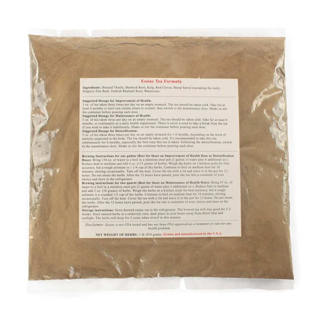 Bulk bag of 1 lb. essiac tea