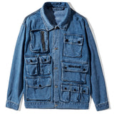 MULTI POCKET DENIM JACKET