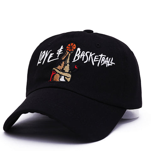 LOVE & BASKETBALL DAD HAT - nonbinaryoutfitters