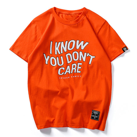 DON'T CARE T-SHIRT - nonbinaryoutfitters