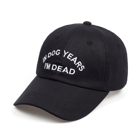IN DOG YEARS I'M DEAD DAD HAT - nonbinaryoutfitters