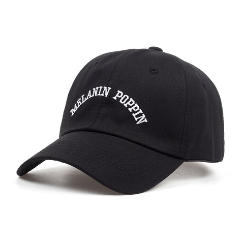 MELANIN POPPIN DAD HAT - nonbinaryoutfitters