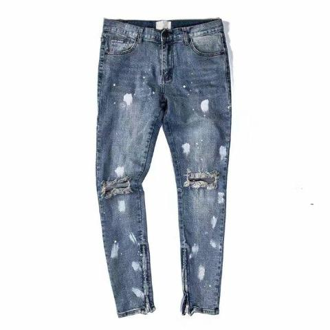 PAINT STAINED DENIM JEANS - nonbinaryoutfitters