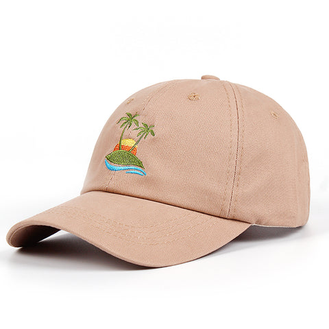 ISLAND SUNSET DAD HAT - nonbinaryoutfitters