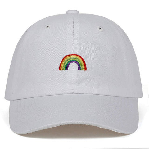 RAINBOW DAD HAT - nonbinaryoutfitters